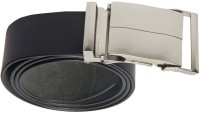 Black Cat Men Formal Black Genuine Leather Belt