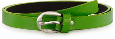 Arum Women Green Genuine Leather Belt