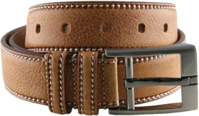 Ocean Enterprises Men Formal Khaki Genuine Leather Belt