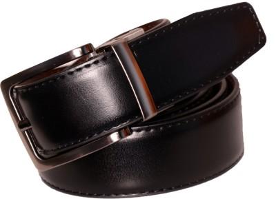 Cops Men Formal Black, Brown Artificial Leather Reversible Belt