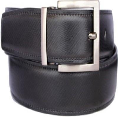 Simran Boys Black Artificial Leather Belt