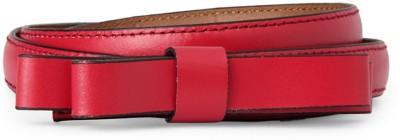 Allen Solly Women Pink Artificial Leather Belt