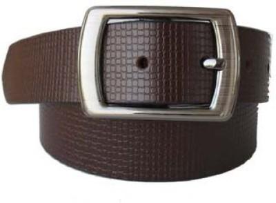 Klaska Men Formal Brown Genuine Leather Belt