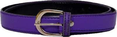 Gen Boys, Girls Casual Purple Artificial Leather Belt