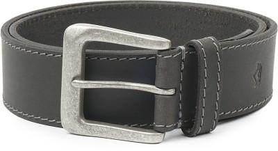 Wolux Men Black Genuine Leather Belt