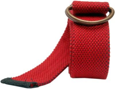 Say It Loud Men, Women Casual Red Synthetic Belt
