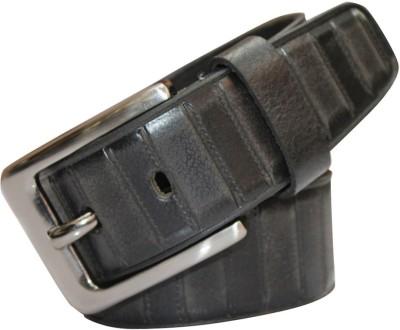 Haywire Men Casual Black Genuine Leather Belt