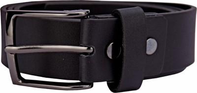 Bulchee Men, Boys Black Genuine Leather Belt
