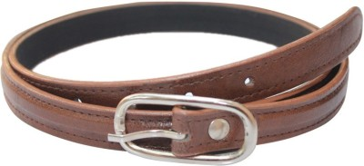Winsome Deal Women Formal Brown Artificial Leather Belt