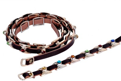 Frow Girls Multicolor Genuine Leather Belt