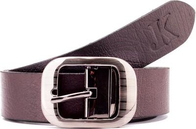Junckers Men, Men, Women Formal, Casual, Party, Evening Brown Genuine Leather Reversible Belt