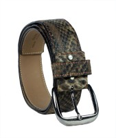 Revo Men Casual Multicolor Genuine Leather Belt