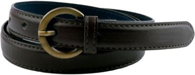 Modishera Women, Girls Casual, Party Black Artificial Leather Belt