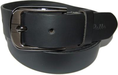 Pelle Men Formal Black Genuine Leather Belt