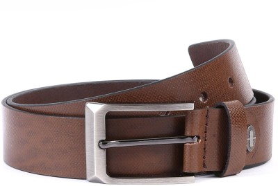 WildHorn Men Casual Brown Genuine Leather Belt
