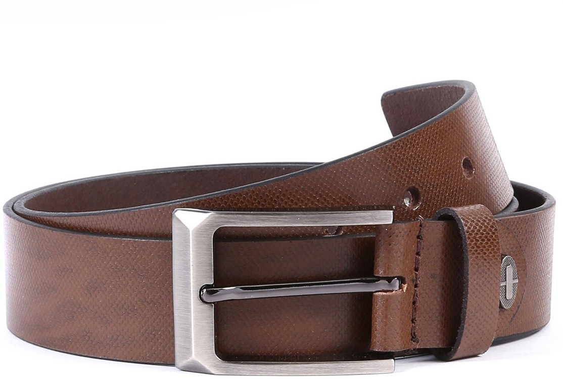 WildHorn Men Casual Brown Genuine Leather Belt