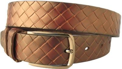 Lion Heart Men Casual Brown Genuine Leather Belt