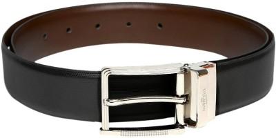 Invictus Men Black Artificial Leather Belt