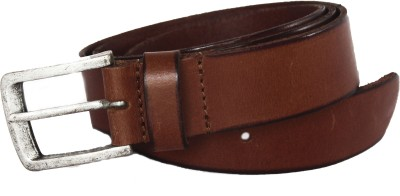 Vickiana Quest Boys, Men Brown Genuine Leather Belt