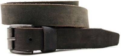 LaPalma Boys, Girls Casual Grey Genuine Leather Belt