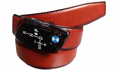 Srbelt Men Khaki Genuine Leather Belt