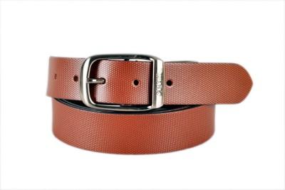 Timberway Men Formal Tan Genuine Leather Belt