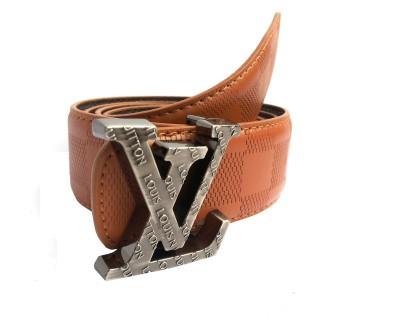 Mode Boys, Men Casual, Formal Brown Genuine Leather Belt