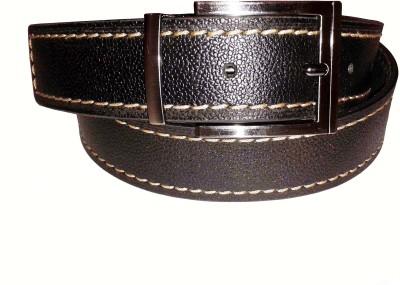 Sanshul Men Casual Brown Genuine Leather Belt