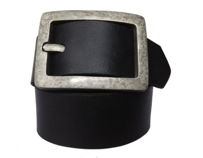Pranjali Men Casual Black Genuine Leather Reversible Belt