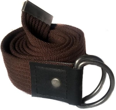 Chalk Factory Men Brown Fabric Belt