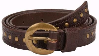 Paradigm Design Lab Women Casual Brown Genuine Leather Belt