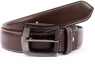 BROUNPLUS Boys, Men Casual Brown Artificial Leather Belt