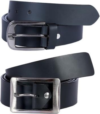 Ocean Enterprises Men Casual, Party Black Genuine Leather Belt