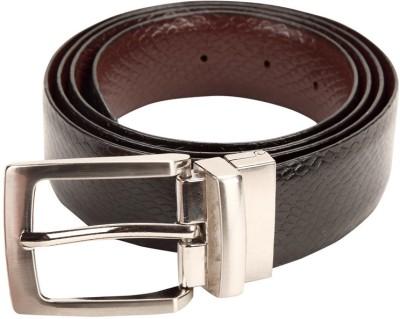 Clayton Men Casual Brown Genuine Leather Reversible Belt
