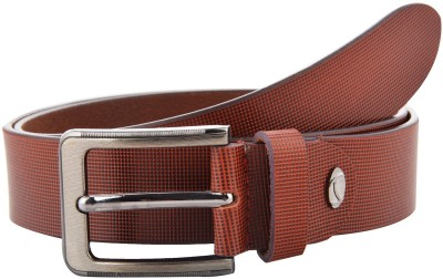 Ahsan Boys, Men Formal Tan Genuine Leather Belt