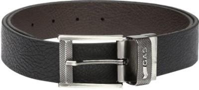 RajHeera Men, Boys Casual, Formal Black Genuine Leather Reversible Belt