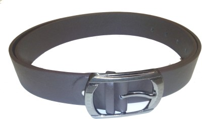 Attitude Works Men Black Artificial Leather Belt