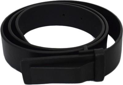 Zaira diamond Women Black Genuine Leather Belt