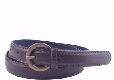 Modishera Women, Girls Casual, Party Brown Artificial Leather Belt