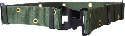 Grooto Men Casual Green Synthetic Belt