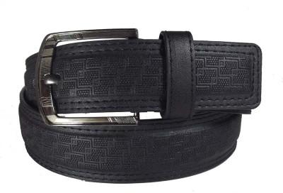 FRONEX INDIA Men Casual, Formal Black Synthetic Belt