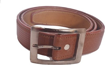 Aam Shopping Men Brown Artificial Leather Belt