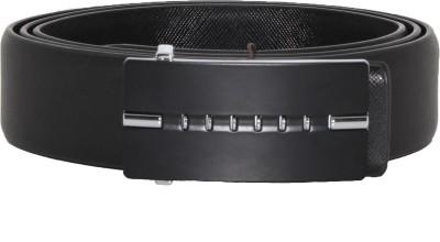 Heaven Deal Men Formal Black Artificial Leather Belt