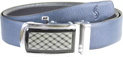 Sizzlers Men Blue Genuine Leather Belt