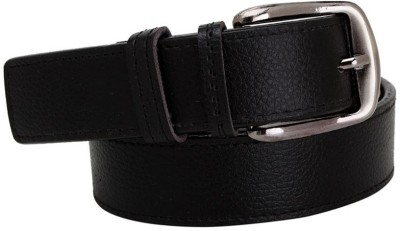 Fast Fox Men Casual Black Synthetic Reversible Belt