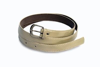 Victoria Secret Women Yellow Artificial Leather Belt