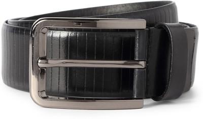 Peter England Men Black Genuine Leather Belt