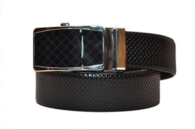 Hide Bulls Men Formal Black Genuine Leather Reversible Belt