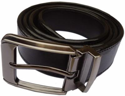 MMS Men Semi-formal Black Synthetic Belt