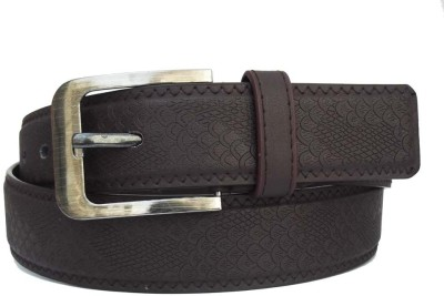 FRONEX INDIA Men, Boys Casual, Party Brown Genuine Leather Belt